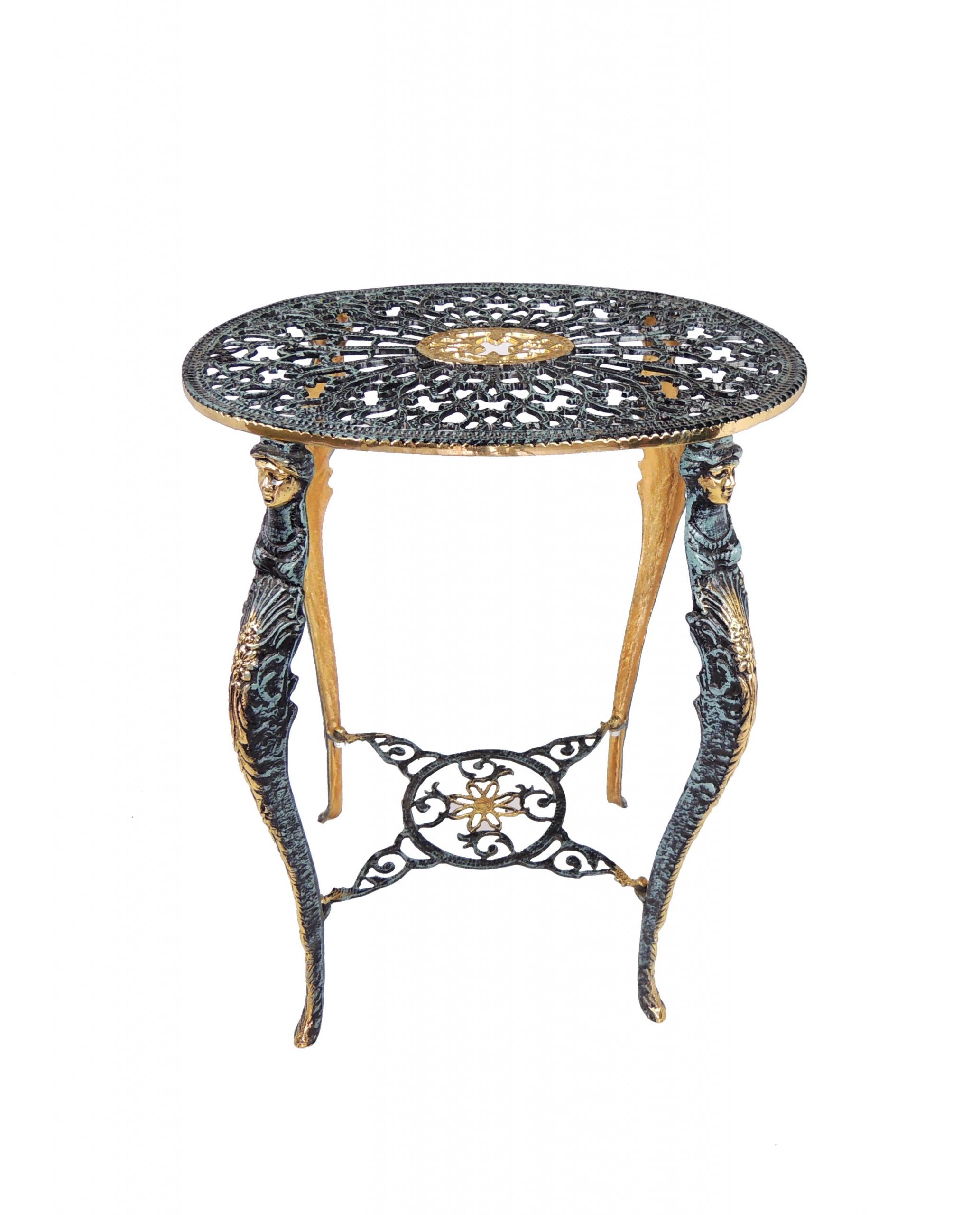 Bronzový květinový stolek