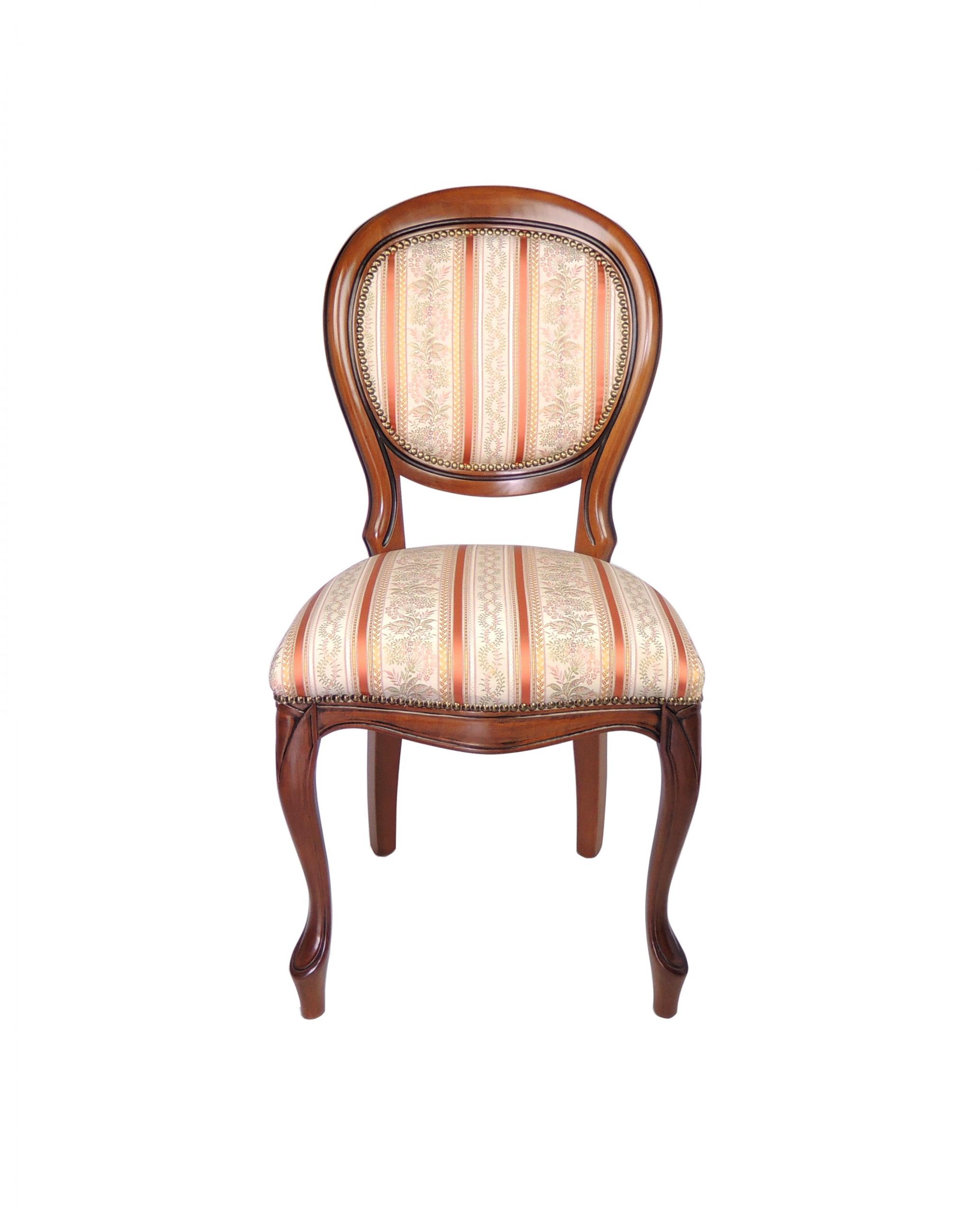 Italská židle ovale liscia