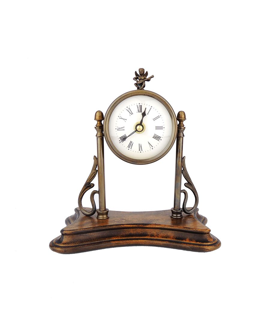 Stojací hodiny s andílkem