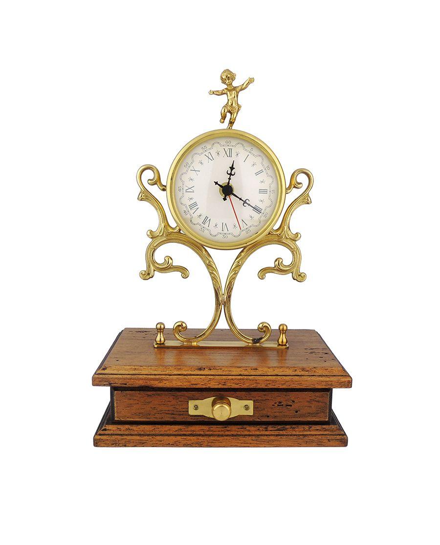 Zlaté hodiny s šuplíkem