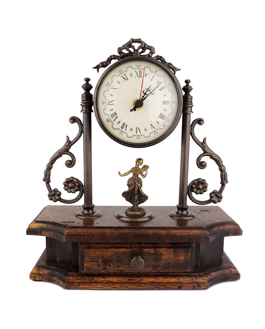 Rustikální stojací hodiny
